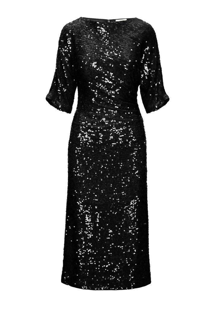 Product 4986428686422, SEQUIN DOLMAN MIDI DRESS - LAPOINTE