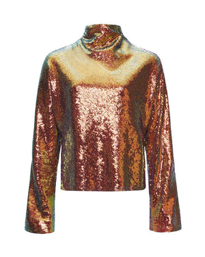 Product 4697246597206, SEQUIN DOLMAN TOP - LAPOINTE
