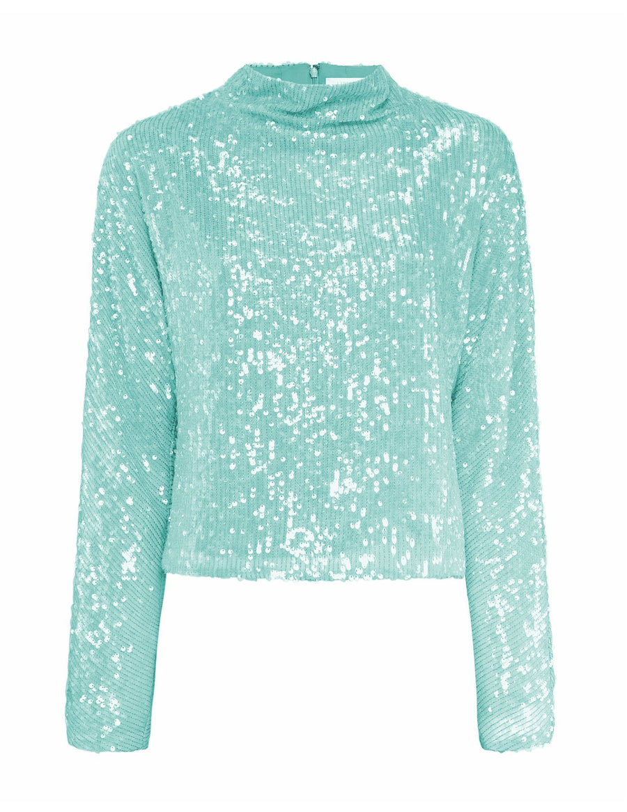 Product 6562436251734, SEQUIN DOLMAN TOP - LAPOINTE