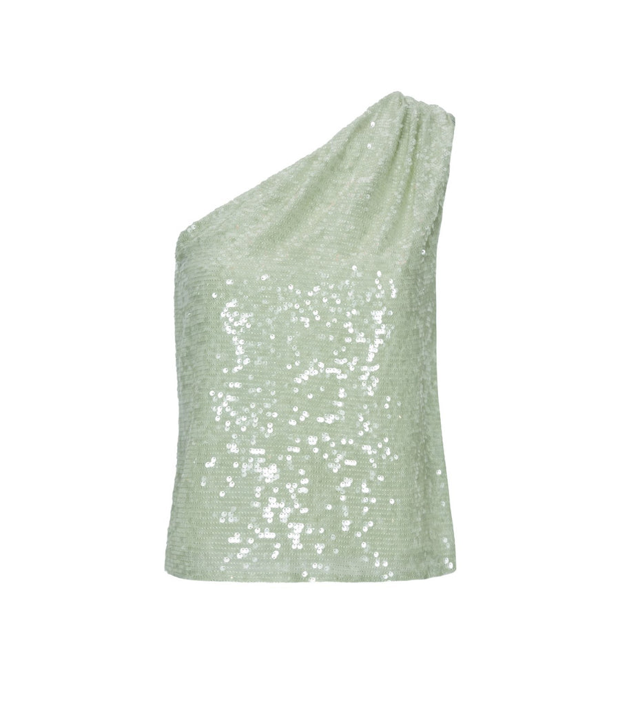 Product 4678452740182, SEQUIN ONE SHOULDER TOP - LAPOINTE