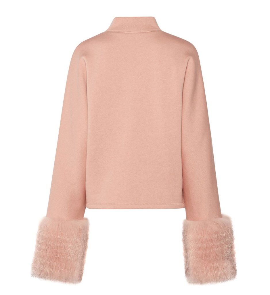 Product 4980354383958, SWEATSHIRT WITH FUR - LAPOINTE
