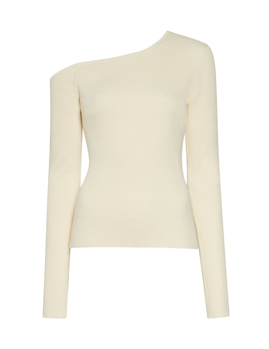 Product 6566689144918, VISCOSE ONE SHOULDER TOP - LAPOINTE