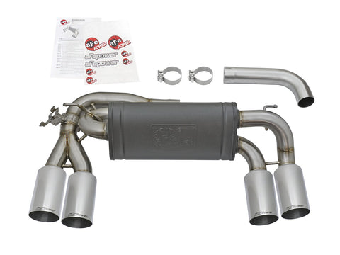 aFe® Mach Force XP™ 304 SS Axle-Back Exhaust System with Quad Rear Exit