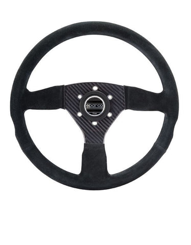 Sparco® 015RC385SN - Carbon 385 Competition Steering Wheel
