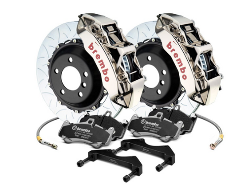 Brembo® (05-20) Mopar GT-R Series Curved Vane Type III 2-Piece Rotor Front Big Brake Kit