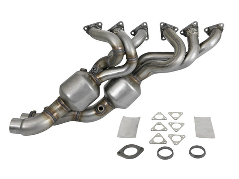 aFe® 47-46304 409 SS Exhaust Manifold with Integrated Catalytic Converters