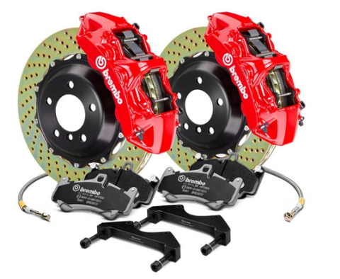 Brembo® (05-20) Mopar GT Series Cross Drilled 2-Piece Rotor Big Brake Kit