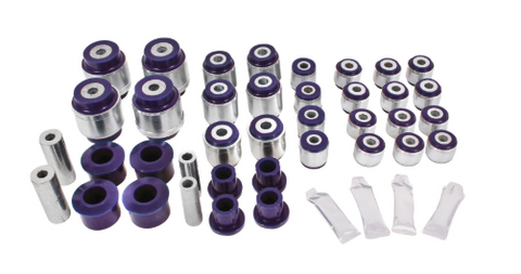 BMR Suspension® - Super Pro™ Non Adjustable Rear Trailing Arm Bushing Kit