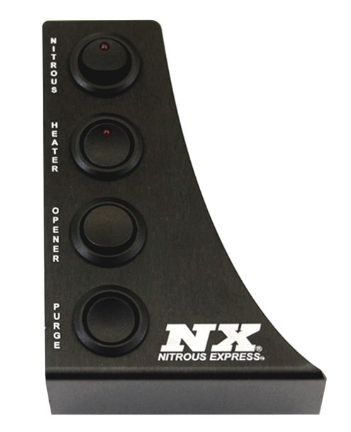 Nitrous Express® 15796 - Custom Switch Panel