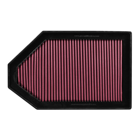 "Flowmaster® 615028 - Delta Force® Oiled Panel Red Air Filter (14.438"" BOL x 9.125"" BOW x 1.75"" H)"