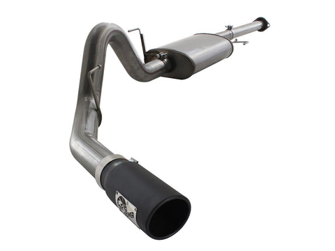 "aFe® (11-14) F-150 EcoBoost MACH Force-Xp 3"" to 3-1/2"" 409SS Cat-Back System (157"" WB)"