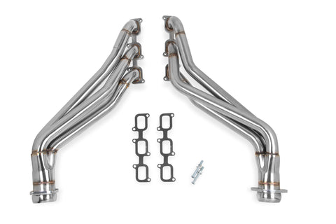 "Flowtech® (11-14) Mustang V6 409SS 1.75"" x 2.5"" Long Tube Headers"