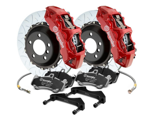 Brembo® (05-20) Mopar GT Series Curved Vane Type III 2-Piece Rotor Big Brake Kit