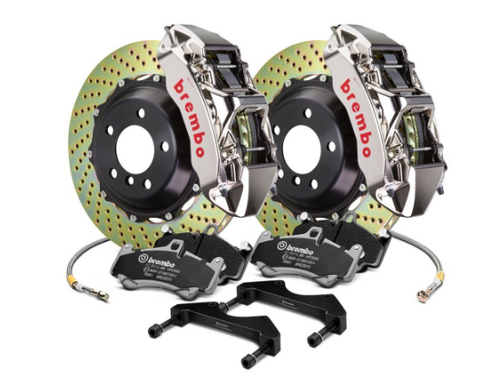 Brembo® (05-20) Mopar GT-R Series Cross Drilled 2-Piece Rotor Front Big Brake Kit