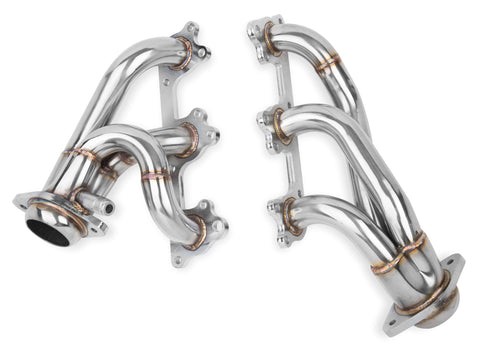 "Flowtech® (05-10) Mustang V6 1-1/2"" x 2-1/2"" 304SS Polished Shorty Headers"