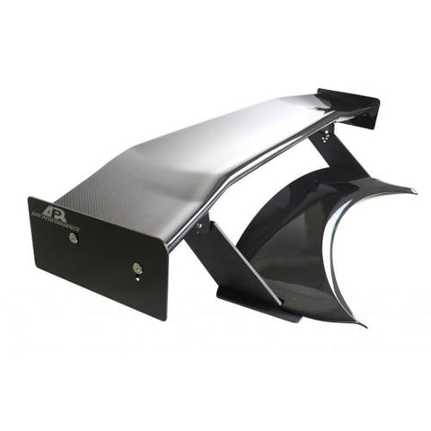 "APR Performance® AS-107488 - GTC-500 74"" Adjustable Wing, and Carbon Fiber Trunk Replacment"
