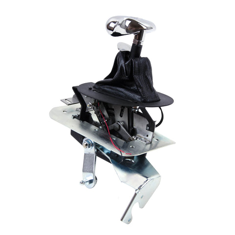 B&M® (96-04) Mustang Auto Ratchet Shifter with Hammerhead Console