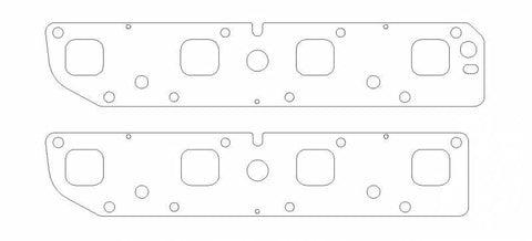 "Cometic Gasket® C5854-030 -  .030"" Multi-Layer Steel Exhaust Header Gaskets"