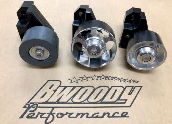 BWoody Performance® HCIdler - Anti-Slip idler Pulley V2