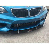 APR Performance® CW-520200 - Stock Bumper Front Wind Splitter
