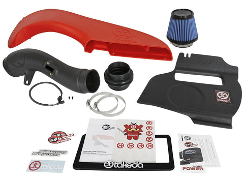Takeda® Attack Stage 2 Wrinkle Black Cold Air Intake System