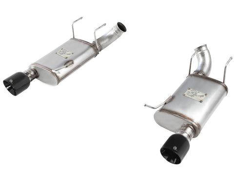 aFe®  49-43052-P Mach Force XP™ 409 SS Axle-Back Exhaust System with Split Rear Exit