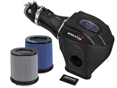 aFe®  52-72204-CF Black Series Momentum™ Plastic Black Carbon Fiber Cold Air Intake System