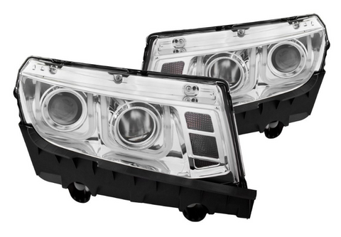 Anzo® 121509 - Chrome LED U-Bar™ Projector Headlights