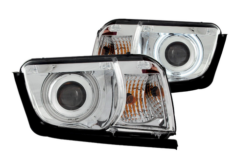 Anzo® 121311 - Chrome CCFL Halo Projector Headlights
