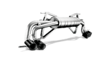 Akrapovic® M-LA/T/4 - Slip-On Line Titanium Exhaust System with Quad Rear Exit
