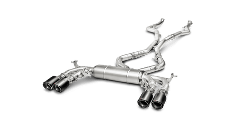 Akrapovic® S-BM/T/1 Evolution Line Titanium Exhaust System with Quad Rear Exit