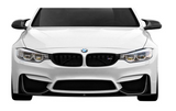 Carbon Creations® (14-20) BMW M3/M4 M Performance Style Carbon Fiber Front Add Ons