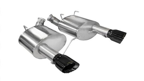 Corsa® 14317 - Xtreme™ 304 SS Axle-Back Exhaust System with Split Rear Exit
