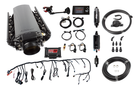 FiTech® 71012 - Ultimate LS3/L92 500HP w/ Trans Control + Inline Fuel Pump Master Kit