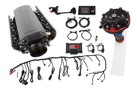 FiTech® 74012 - Ultimate Tall LS1/LS2/LS6 750HP w/ Trans Control + Hy-Fuel In-Tank Retrofit Master Kit