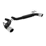 Flowmaster® 817504 - Outlaw™ Stainless Steel Dual Axle-Back Exhaust System with Split Rear Exit