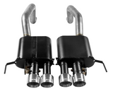 Flowmaster® - Outlaw™ 409 SS Axle-Back Exhaust System with Quad Rear Exit