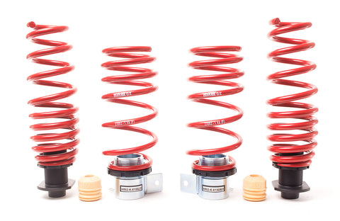 "H&R® - 1.2""-1.8"" x 0.4""-1"" Front and Rear VTF Adjustable Lowering Spring Kit"