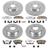 Power Stop® K6787-26 - Z26 Street Warrior Brake Kit