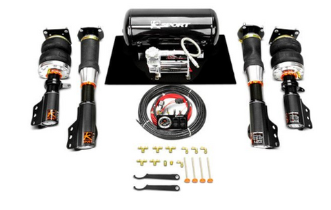 KSport® CCV090-ABA - Airtech Basic™ Front and Rear Air Suspension System