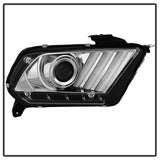 Spyder® 5085436 - Chrome Projector LED DRL Head Lights