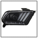 Spyder®  5085429 - Black Projector LED Light Bar Head Lights