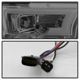 Spyder®  5083678 - Black Smoked Projector LED DRL Head Lights