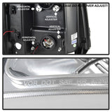 Spyder® 5083616 - Chrome Projector LED DRL Head Lights