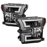 Spyder®  5083531 - Black Projector LED DRL Head Lights