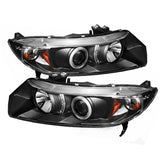 Spyder® 5079565 - Black Projector CCFL Halo Head Lights
