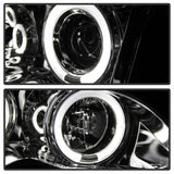 Spyder® 5042408 - Chrome Projector LED Halo Head Lights