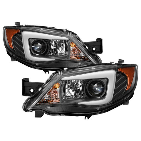 Spyder® 5083937 -  Black Projector Xenon/HID DRL Head Lights