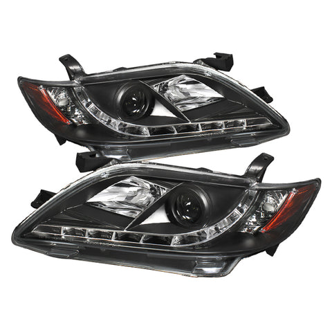 Spyder®  5039422 - Black Projector LED DRL Head Lights