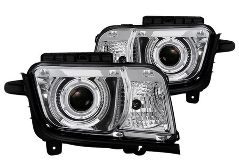 Spyder® PRO-JH-CCAM10-LED-C - Chrome LED Halo Projector Headlights